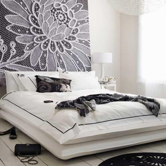Black And White Bedroom Designs Interior Designing Ideas