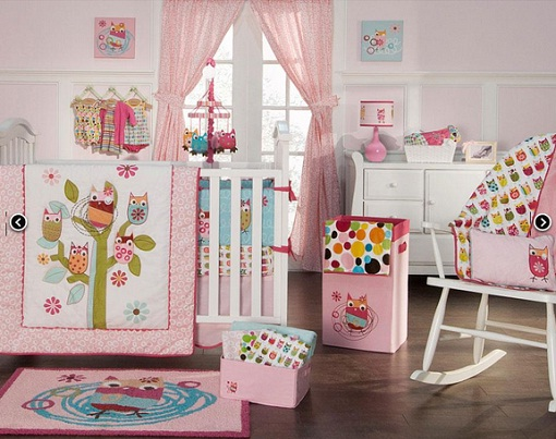 Owl Bedding Sets Interior Designing Ideas