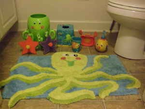 Bathroom Accessories Like Rugs Decorative Towels With Sea Theme Can Be Purchased Even Solid Color Too Work Well Alternatively You Use