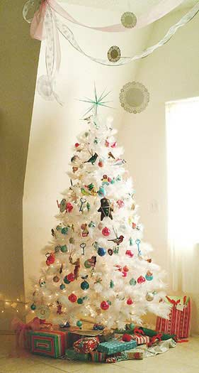 last but not the least dont forget the age old contemporary black and white christmas decoration it looks chic and wonderful