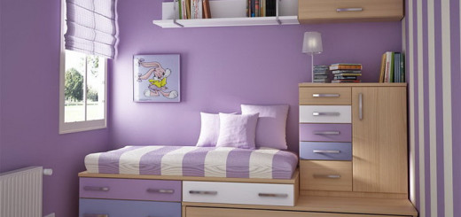 Purple-Teenage-Girl-Bedroom-Color