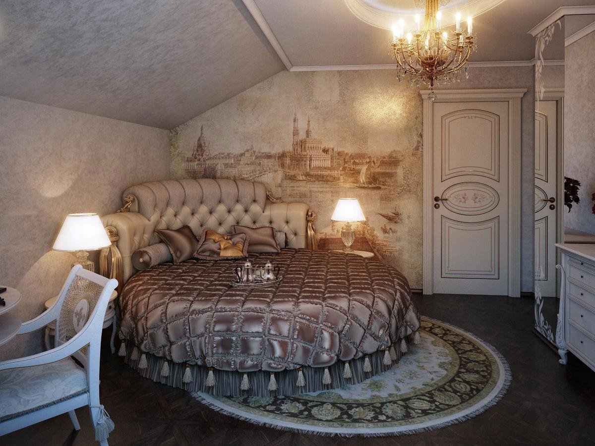 Traditional and Romantic Bedroom – Interior Designing Ideas