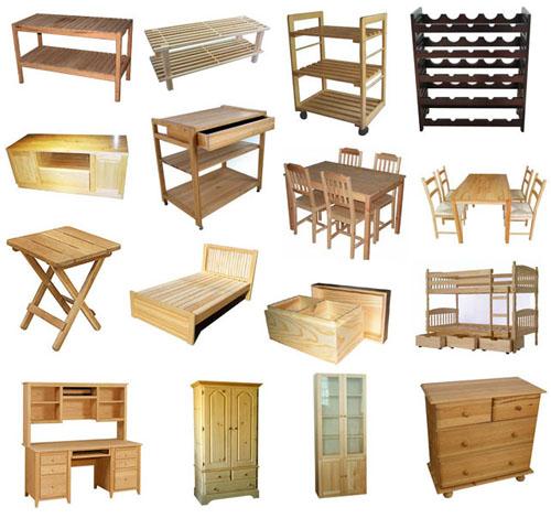 clean wood furniture