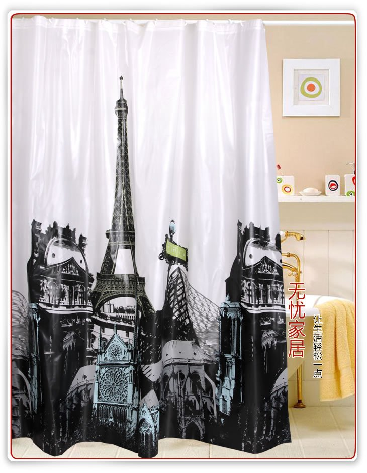Paris-Eiffel-Tower-Pattern-EVA-Shower-Curtain-W4801