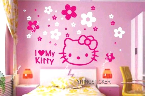 Matching Accessories. Hello Kitty Bedding Set · Il_570xN.204623299