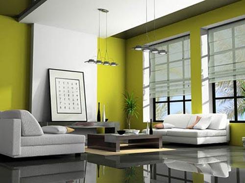 Eco-friendly Living Room (6)