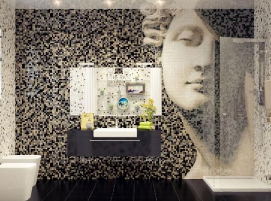 Mosaic-Tile-on-Bathroom-550x408