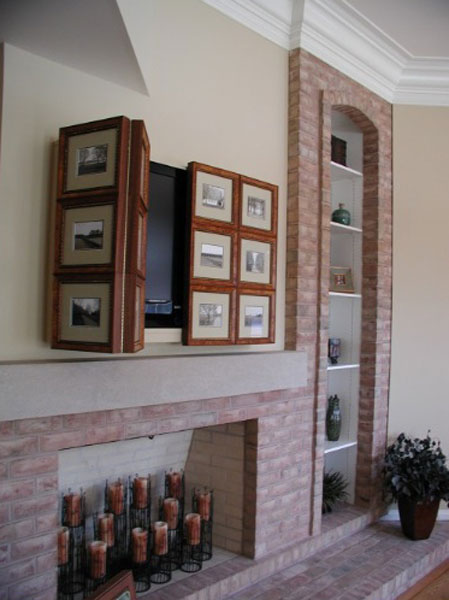 TV picture frames