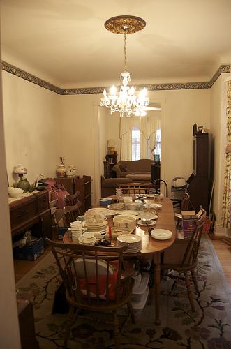 Victorian Dining Room (3)