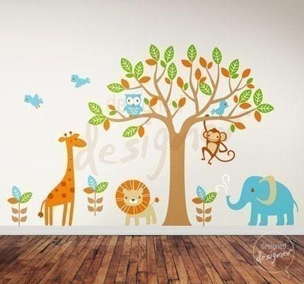 Baby Room Wall Decor Makipera. nursery decorations wall stickers   Nursery Nurse Schooling