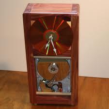 hard drive clock grandfather