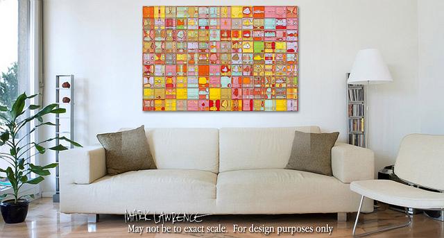 tile art painting
