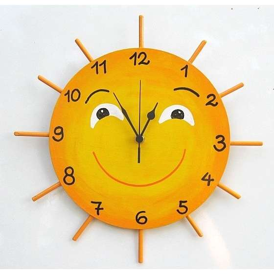 Wall clock for kids interior designing ideas for Wall clock images for kids
