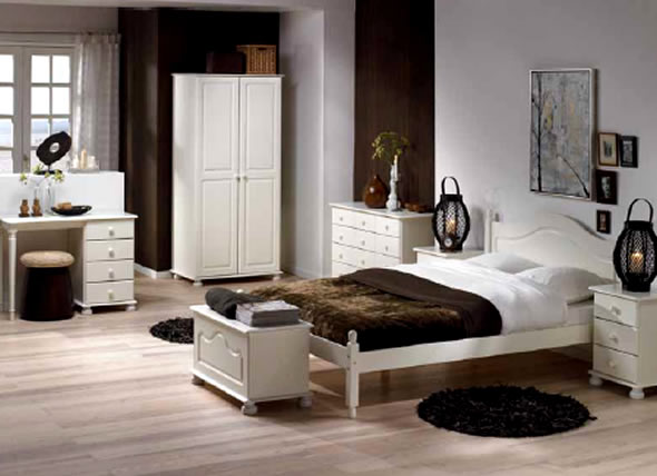 Elegant White Bedroom Furniture modren white furniture bedroom ideas combination of and brown