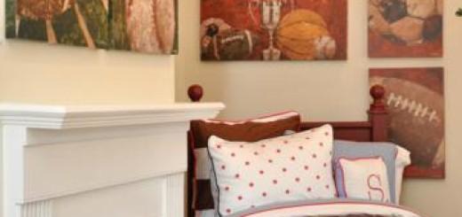 sports bedrooms for kids teens (5)