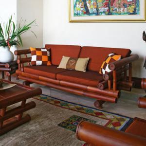 Bamboo sofa  (2)