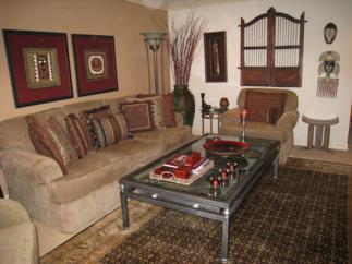 Travel Inspired Living Room (4)
