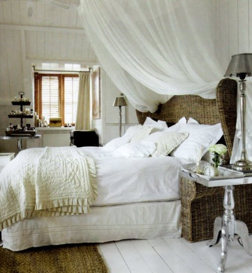 White country bedrooms interior designing ideas for White country bedroom