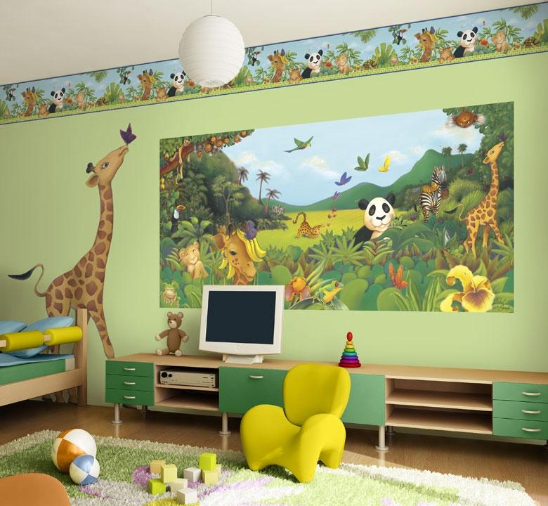jungle themed bedroom – interior designing ideas
