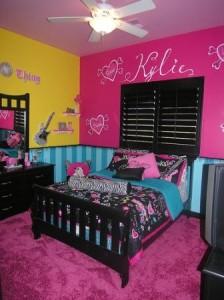 teen-bedroom-decor-girls-bedroom-rockstar