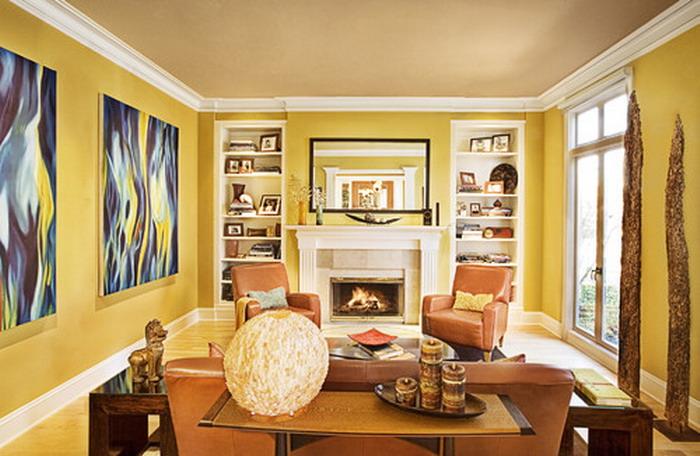 Yellow color room ideas     Interior Designing Ideas