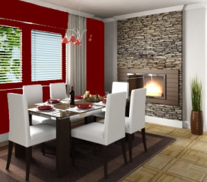Red Dining 1