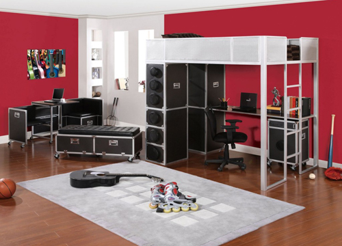 How to create music themed bedroom