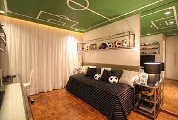 How to create football themed bedroom | | Interior Designing ...