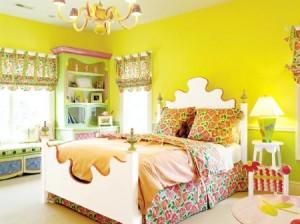 lovely-yellow-girls-bedroom-design-ideas