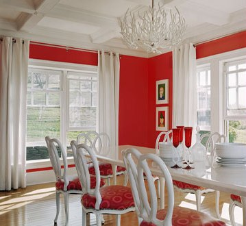 If Your Dining Room Is Located On The Northern Side Of Home You May Seek Out For Cooler Colors Like Blue And White Warm Rich Blend Beautifully