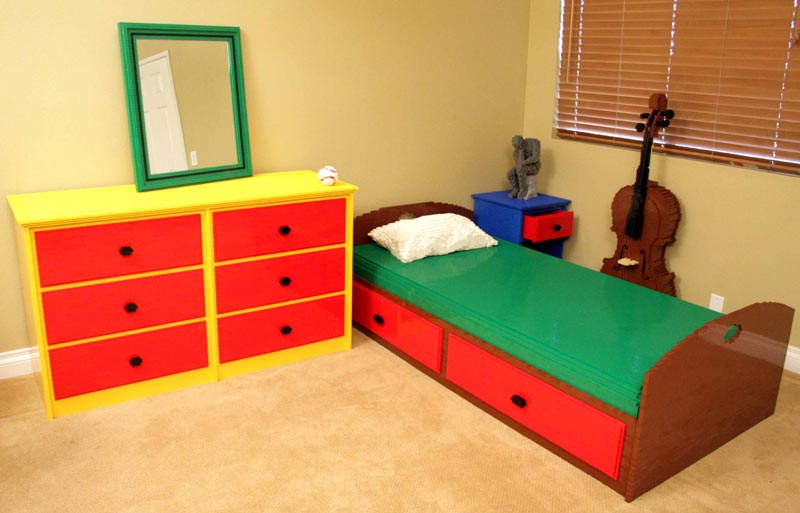 How To D 233 Cor Lego Themed Bedroom Interior Designing Ideas