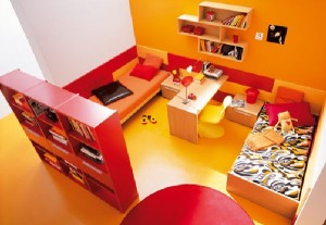 orange-red-and-yellow-bright-and-colorful-kids-room-decor-ideas-by-kibuc-uni-wall-interior-design-picture