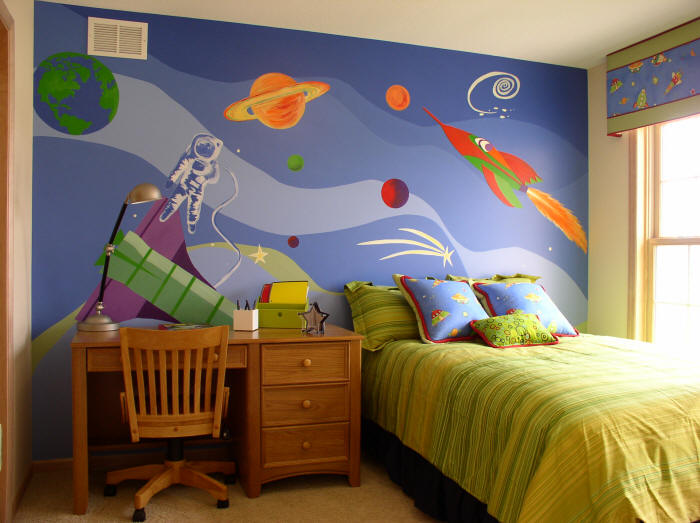 Interior Outer Space Bedroom Ideas outer space themed bedroom the new way of life interior bedroom
