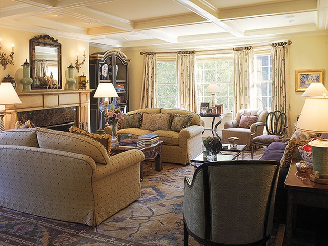 traditional living room designs difference between traditional decoration and modern home 13368