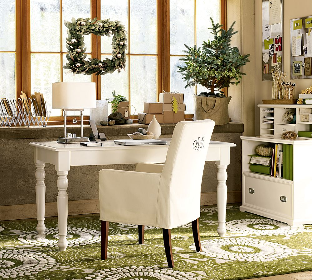 Eye Catching Cozy Home Office Interior Idea