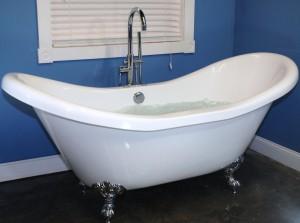 Whirlpool-Style Acrylic Bathtub