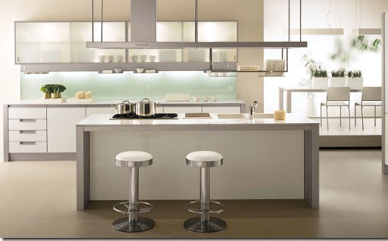 Contemporary Modern Kitchen Island Design Ideas
