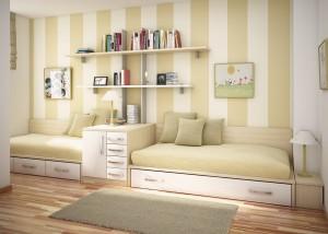 Minimalist-teen-room