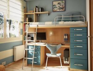 Multifunctional-teen-room-furniture-set