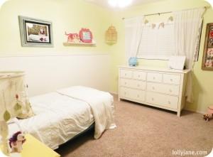 little girl bedroom makeover