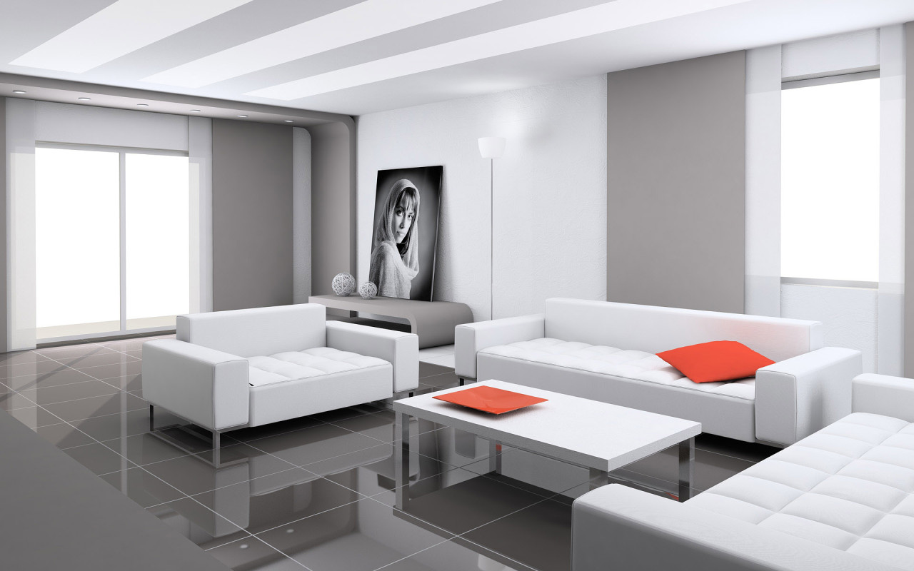 How to liven up your living room interior designing ideas White living room ideas photos