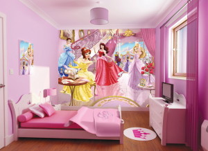 Fairy-Girls-Bedroom-kids-room-ideas-decorations-childrens-decor-bed-theme-guest-little-bedding-furniture-children-Decorating-Desk-Television