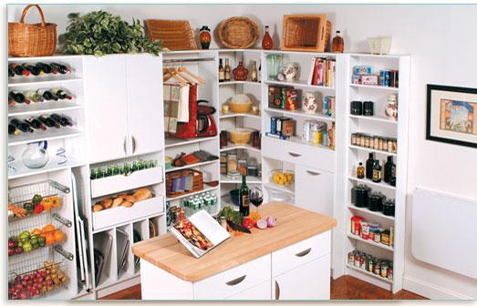 Storage of Kitchen Items