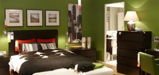 enticing-inspiration-for-creative-green-bedroom-design-best-color-scheme