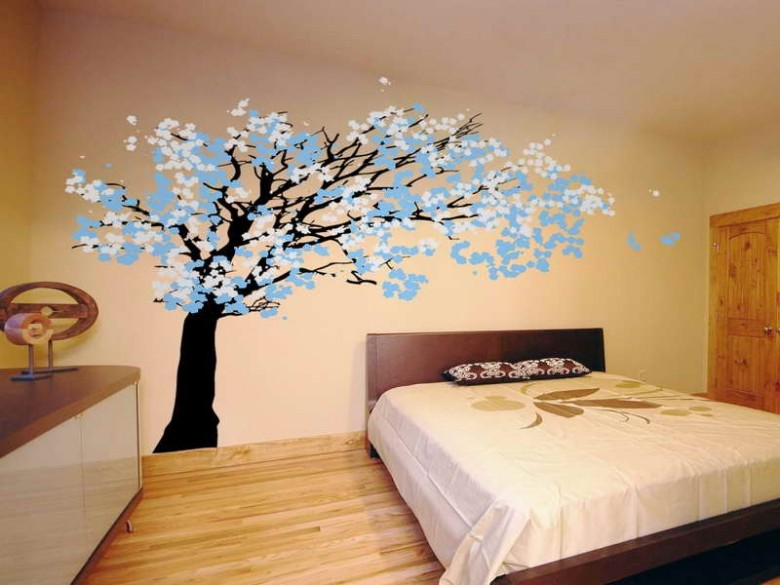 How to create your own wall decal interior designing ideas for Create your own wall mural photo