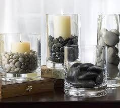 peeble in glass