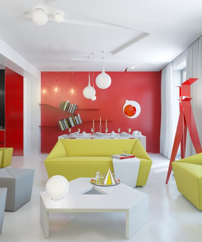 natural-red-white-yellow-open-plan-living-room
