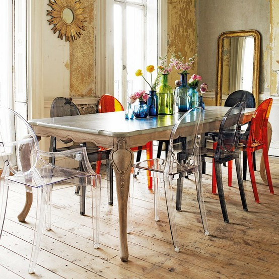 Source · 4 Ways To Work With Mismatched Chairs RL