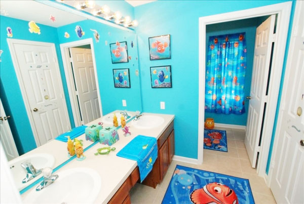 Accentuate The Bathroom Within Budgetu2013 While You Can Spend A Lot On  Decorating A Kidu0027s Bathroom, It Is Important To Realize That You Need To  Complete ...