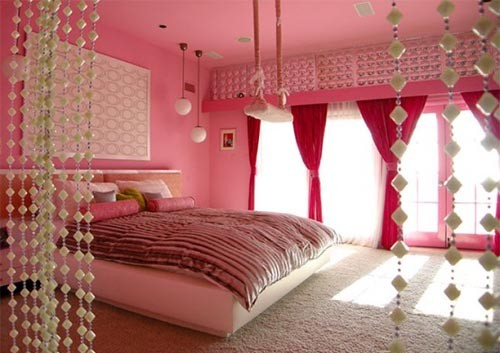 Romantic-Pink-Bedroom